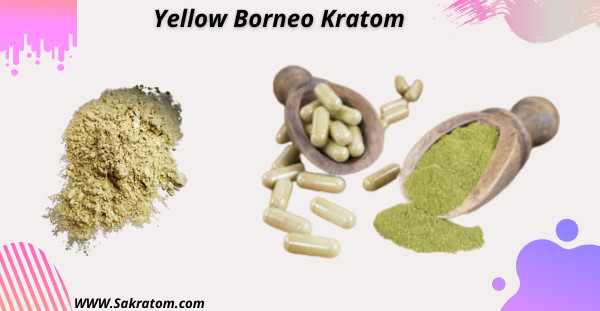Yellow Borneo Kratom